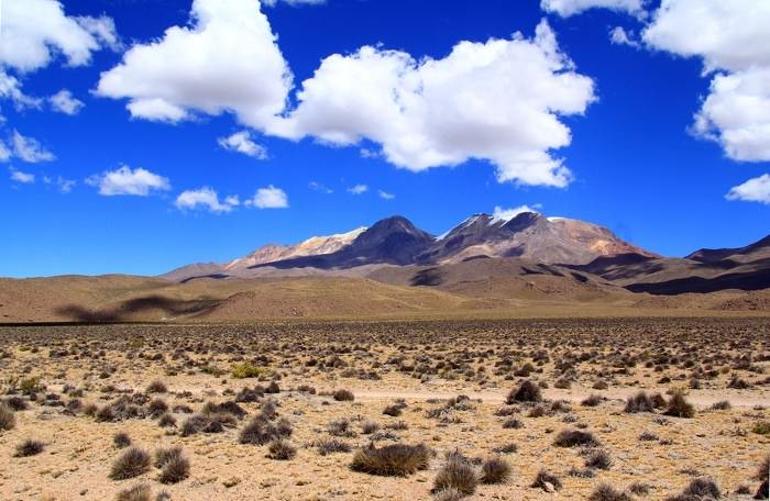 вулканы Пичу-Пичу и Чачани, Перу