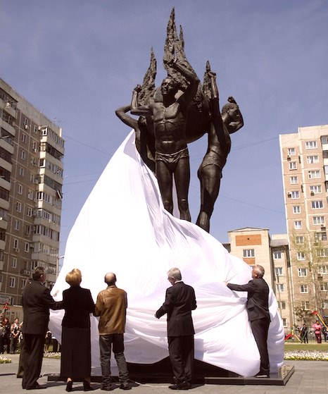 памятник чернобыльцам в краснодаре