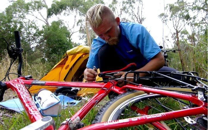 ремонт велосипеда в путешествии