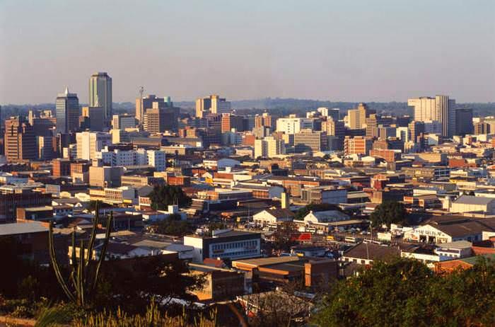 Хараре, столица Зимбабве