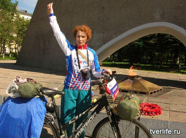 велобабушка Юлия Михайлюк