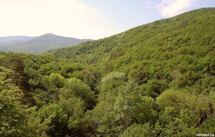 панорамный вид на горы