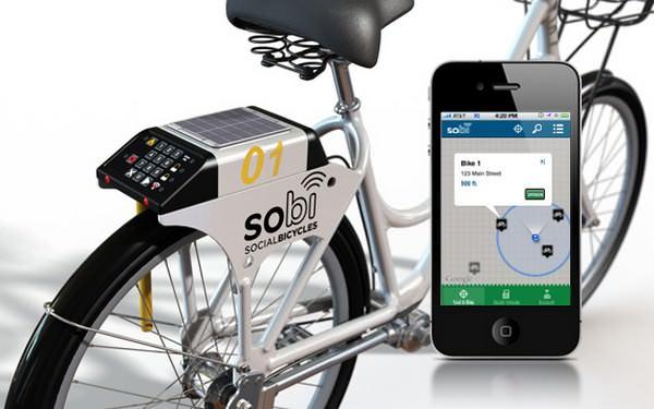 мобильное приложение для велосипедов