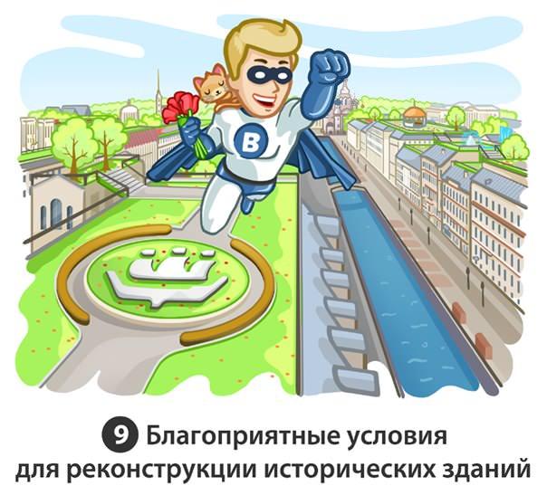 благоприятные условия для реконструкции исторических зданий Петербурга