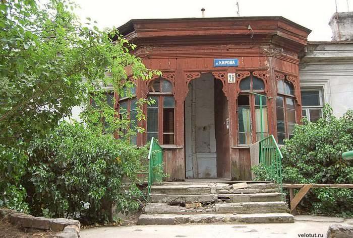 веранда в старом доме