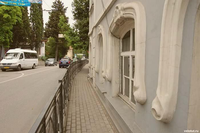 узкие тротуары