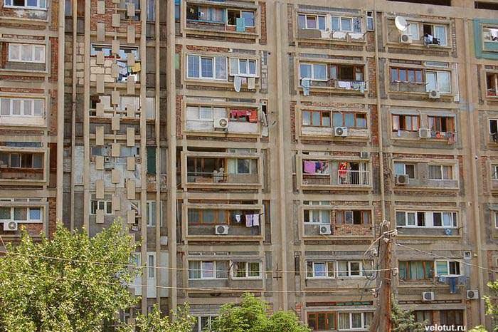 жилой многоэтажный дом ялта
