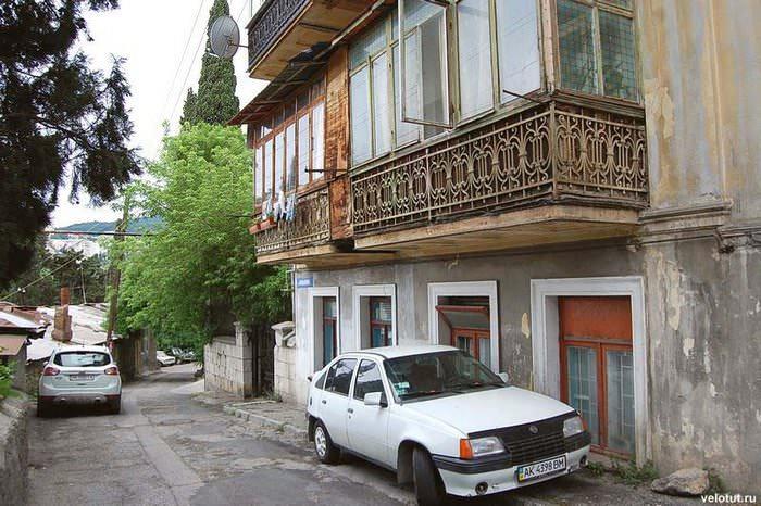 ялта балкончики