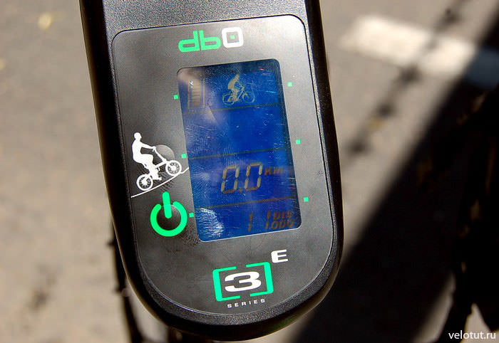 жк дисплей велосипеда