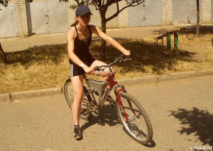 мой первый велосипед, 2005 год