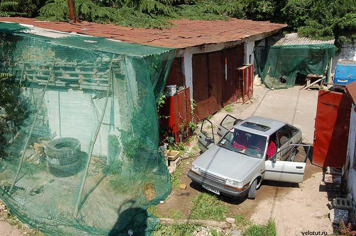 гаражи ялта