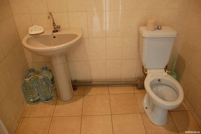 туалет и раковина
