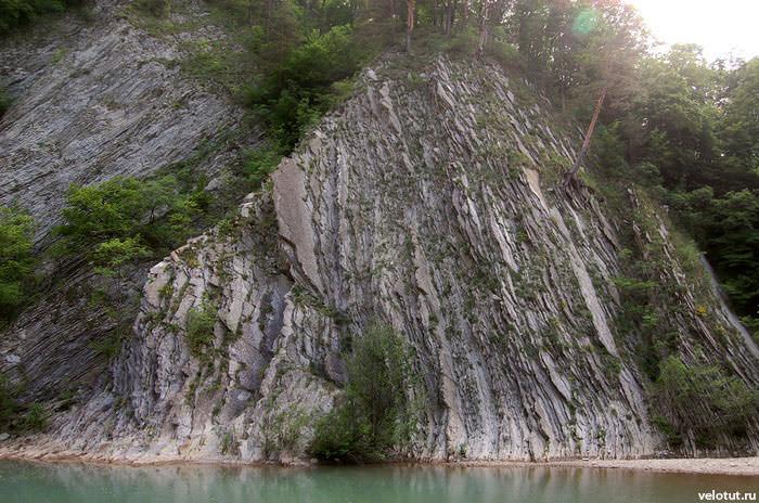 красивая скала