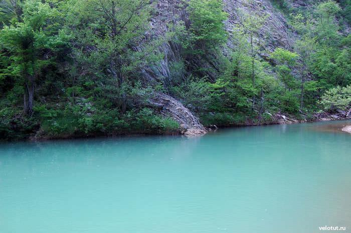 голубая река пшада