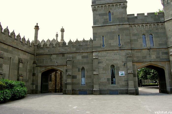 дворец алупка