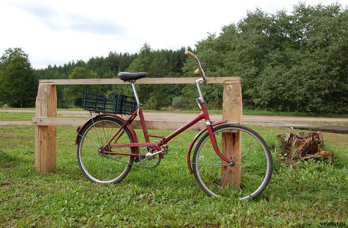 деревенский велосипед