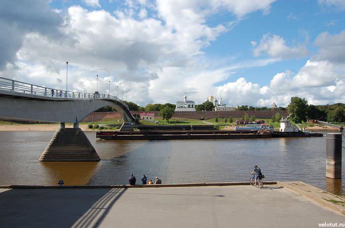 кремлевский пешеходный мост