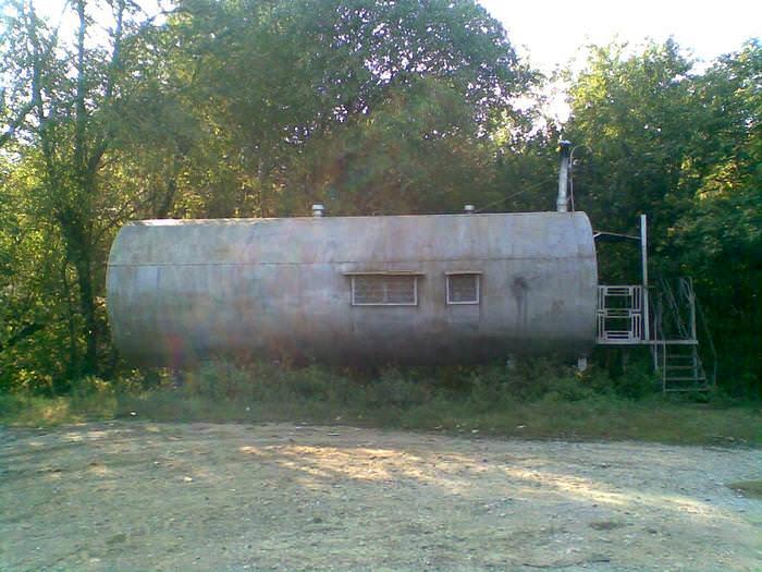 дом цистерна
