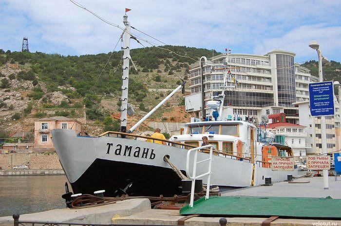 яхта тамань