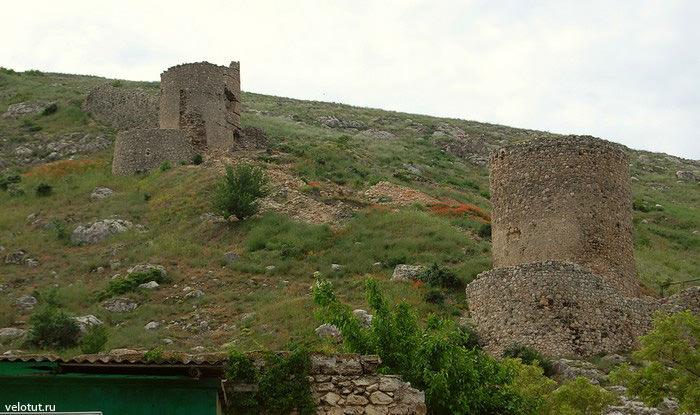 генуэзские крепости в балаклаве