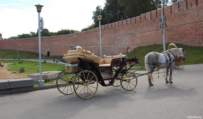 карета возле кремля