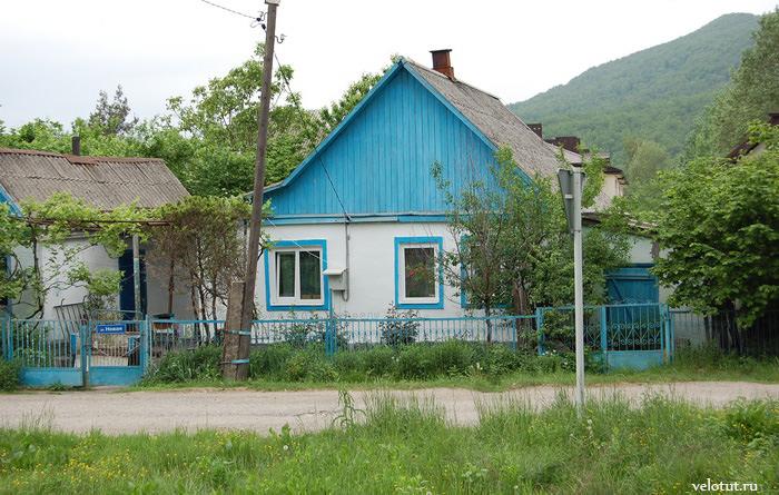 старые домики