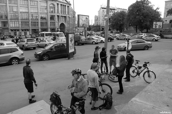 велосипедисты москвы