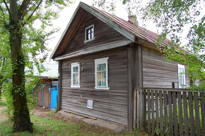 деревянные дома в хвойной