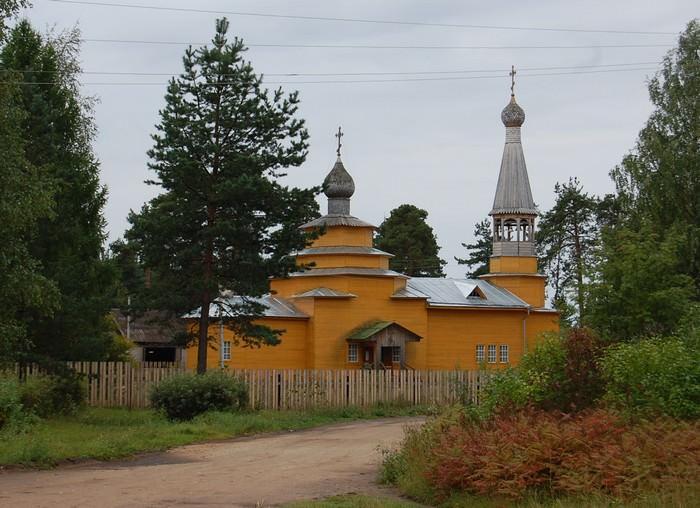 церковь в хвойной