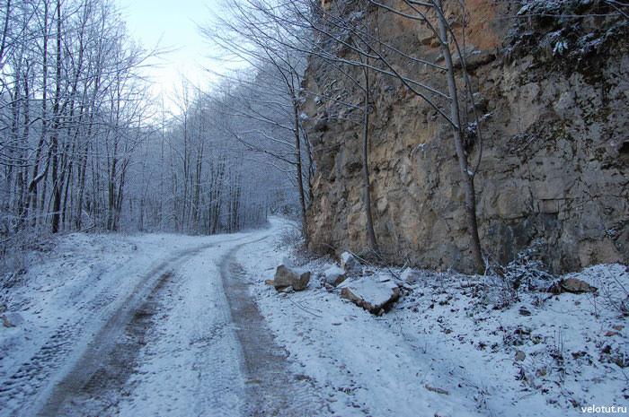 дорога на смотровые площадки гуамка