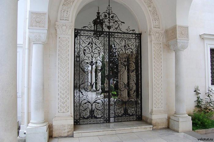 ажурные ворота