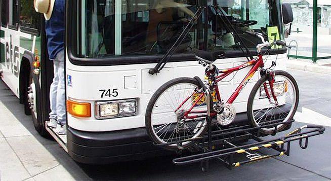 велокрепления на автобус