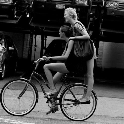 девушки на вело