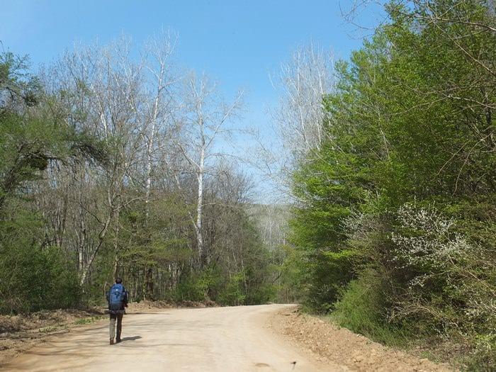 дорога на крымскую поляну