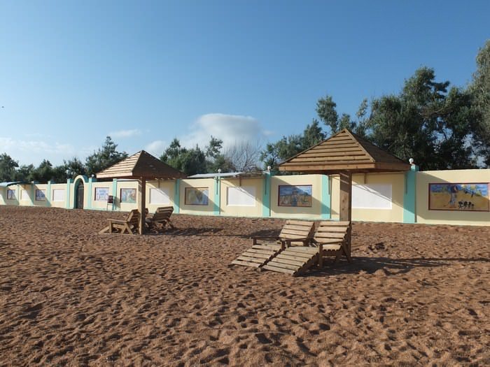 пляж дельта