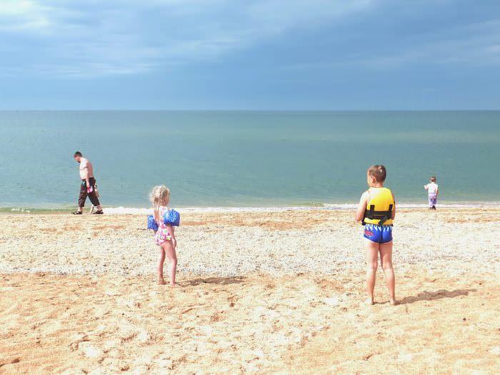 пересыпь пляж