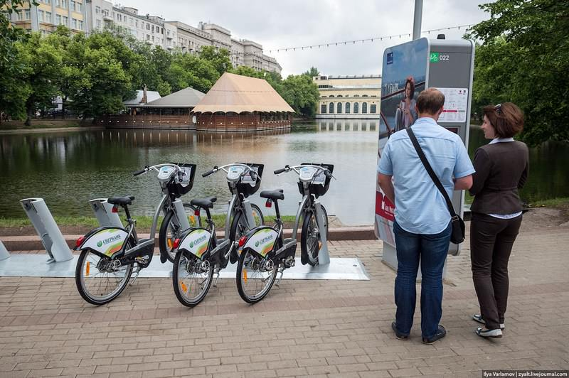 новый велопрокат в Москве