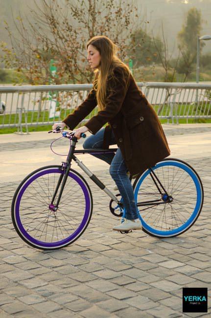 не угоняемый велосипед