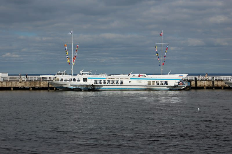 теплоходы в финском заливе