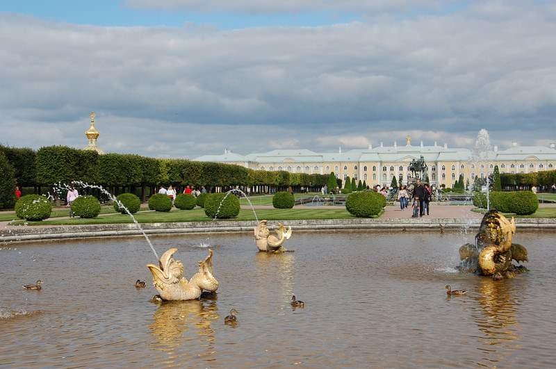 фонтан петергоф