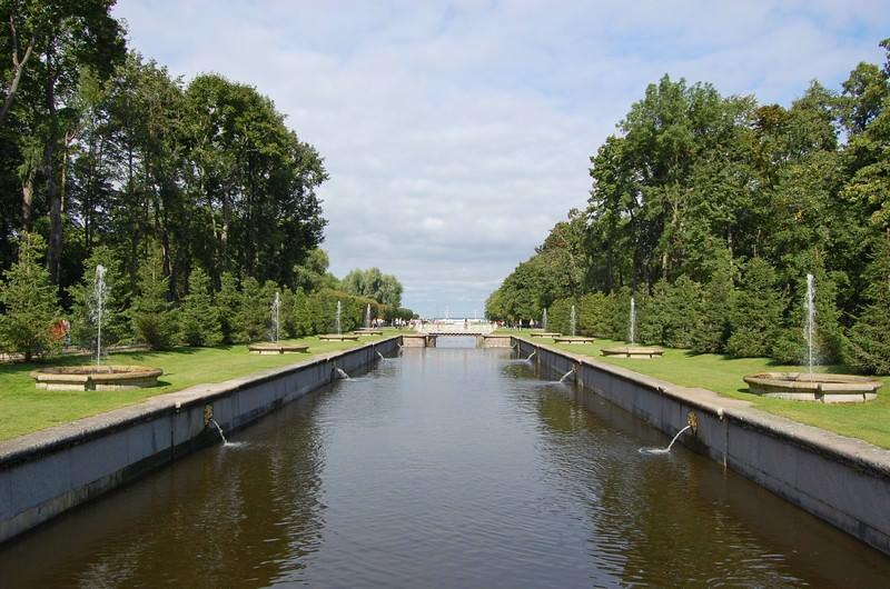 морской канал в петергофе