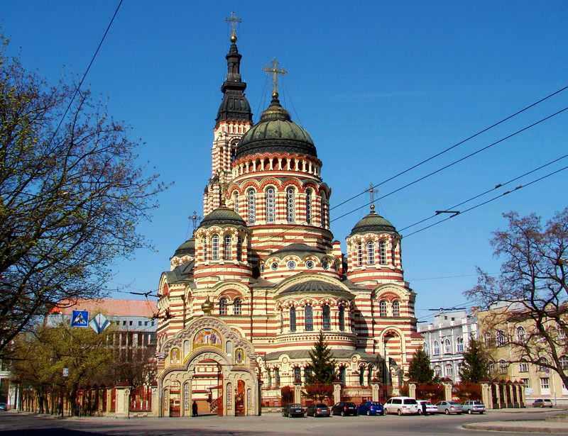 кафедральный собор в Харькове