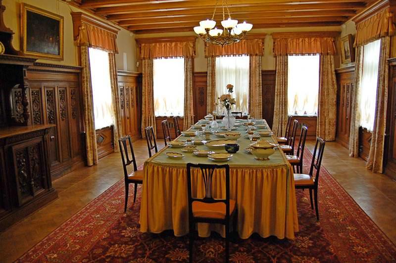 столовая массандровский дворец