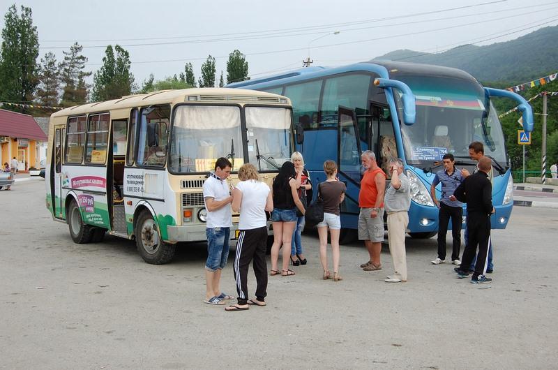 автобус на криницу