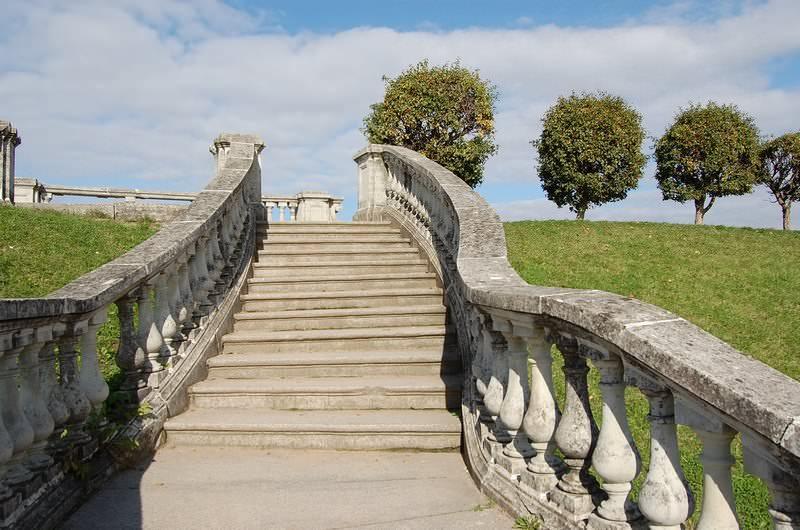 лестница  петергоф