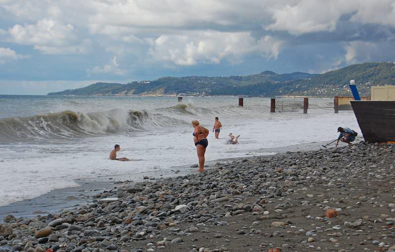 пляж ривьера