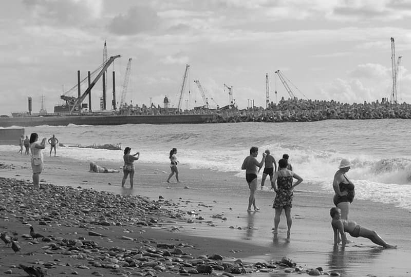 пляж сочи ривьера
