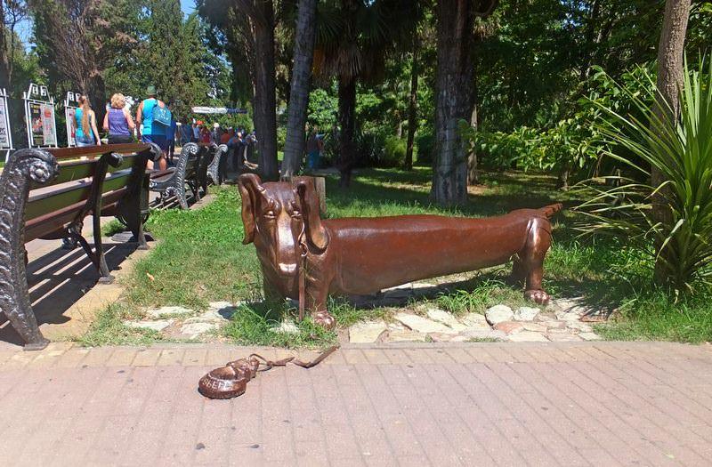 скульптура такса