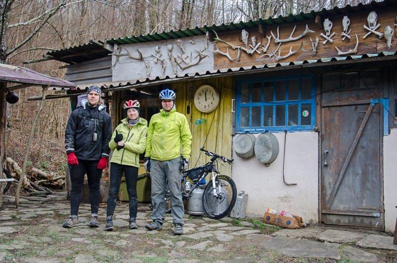 велотуристы на кавказе