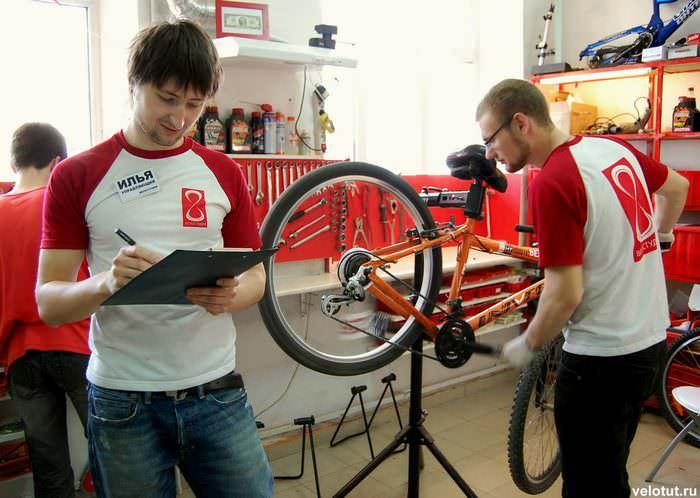 ремонт велосипедов в краснодаре
